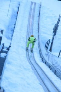 A Video Update Of Our Team Learning To Ski Jump With Eddie The Eagle In Courchevel Week 1 2