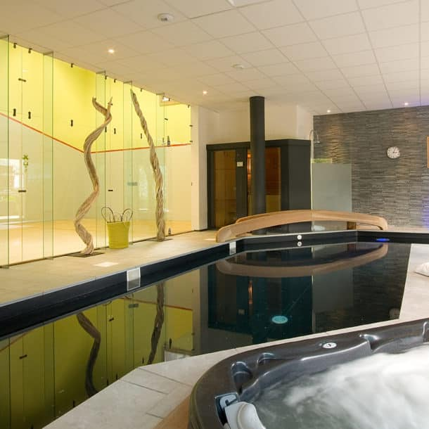 Squash Court And Swimming Pool At Our Luxury Ski Chalet Igloo In Courchevel Le Praz