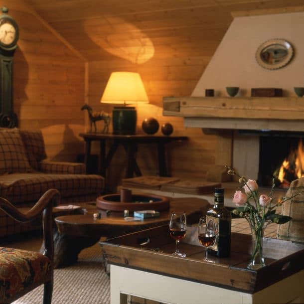 Sitting Room In Luxury Ski Chalet Bartavelles In Meribel