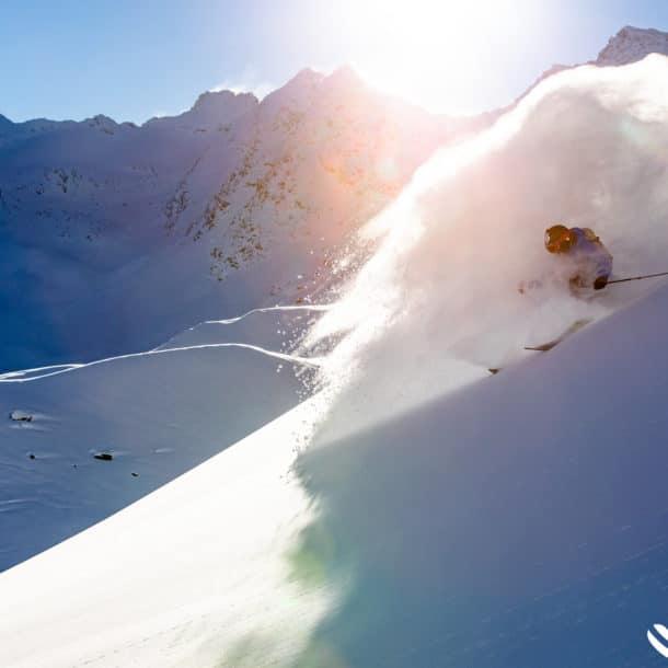 Лыжный порошок в Мерибеле и Куршевеле