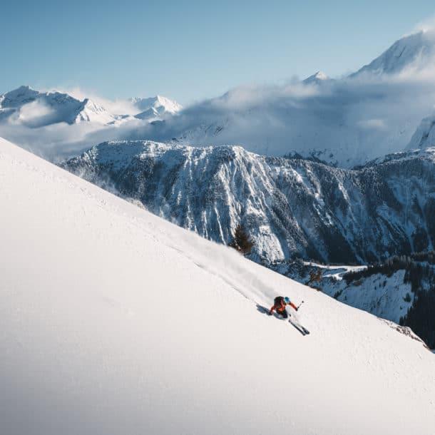 Лыжный порошок в Куршевеле из наших роскошных лыжных шале